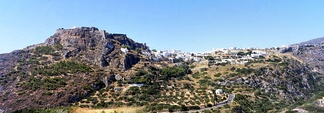 View of the capital, Chora