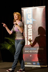 Emily Lakdawalla at the Planetary Conference 2013