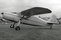 Fairchild UC-61K supplied as an Argus III to the RAF in 1944 and sold to a civil owner in Belgium postwar