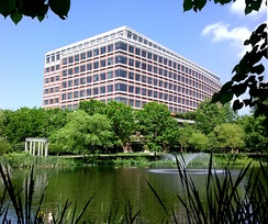 A view, from the southwest, of the Federal National Mortgage Association's (Fannie Mae's) Reston, Virginia facility.