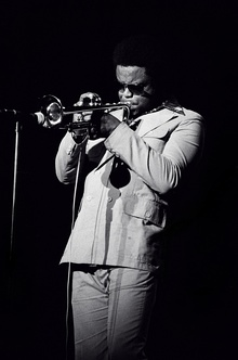 Hubbard performing in Rochester, New York, 1976