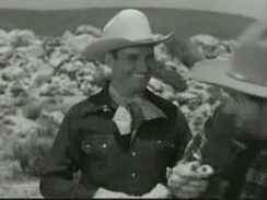 "Gene Autry in The Gene Autry Show episode ""The Black Rider"", 1950"