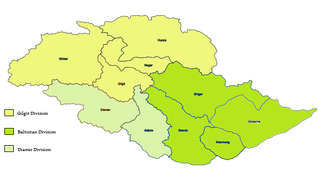 Gilgit-Baltistan is administered as three divisions