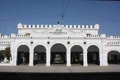 Gujranwala's rail station dates from the British era.