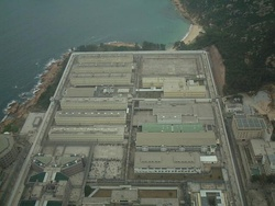 Aerial view of Stanley Prison