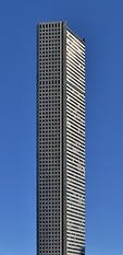 The JPMorgan Chase Tower is the tallest building in Texas and the tallest 5-sided building in the world.