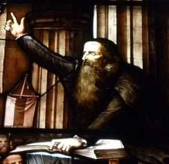 John Knox was a leading figure in the Scottish Reformation.