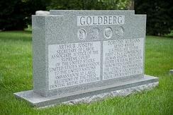 Grave of Justice Arthur J. Goldberg