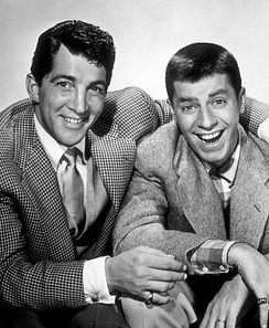 Martin with Jerry Lewis in 1950