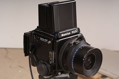 Mamiya RZ Professional II(Film camera)and Phase one Digital back