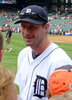 Scherzer during his tenure with the Detroit Tigers in 2013