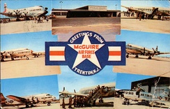 McGuire AFB—MATS Era Card, early 1960s