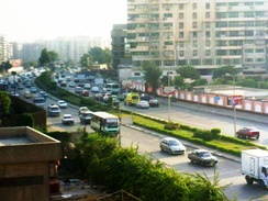 The Autostrade in Nasr City