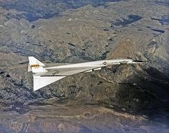 The XB-70 Valkyrie was chosen in 1957 to replace the B-58 Hustler, but suffered as a result of a switch in doctrine from high to low-altitude flying profiles