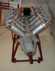 Top overhead view of OX-5 at Lone Star Flight Museum