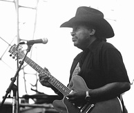 "Otis Rush, an originator of the ""West Side sound"""