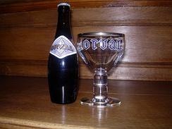 Пиво Orval с оригинальным бокалом