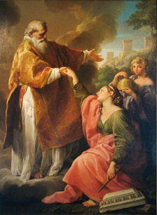 A painting in the Museo di Stato di San Marino by Pompeo Batoni