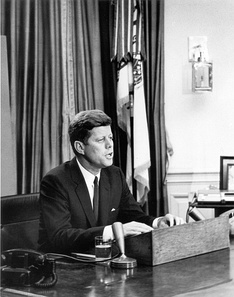 Kennedy addressing the nation on civil rights, June 11, 1963