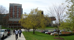 Hylan Hall, home of the mathematics department