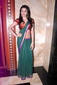 Sherlyn Chopra in transparent low-rise saree