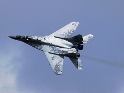 A MiG-29AS of the Slovak Air Force