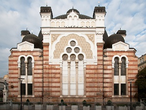 The Sofia Synagogue in the style of Moorish Revival architecture