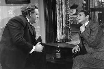 Charles Laughton and Henry Daniell