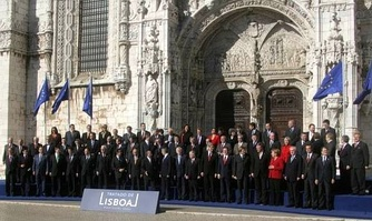 The Treaty of Lisbon was signed in 2007, when Portugal held the presidency for the European Council.