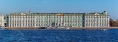 The Winter Palace from Saint Petersburg