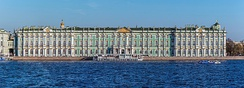 The Hermitage Museum in Saint Petersburg, the most-visited museum in Russia