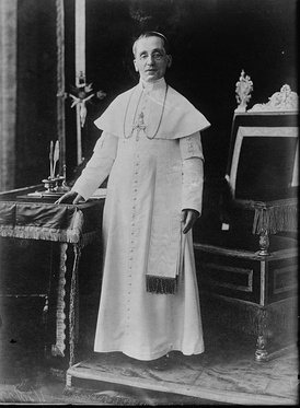 Pope Benedict XV during his reign.