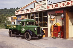 1936 Bedford WTL lorry  at Amberley Working Museum