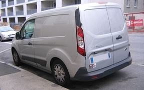 2014 Ford Transit Connect SWB, rear