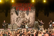 1980s hardcore band Agnostic Front