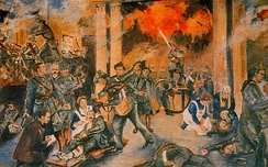 A depiction of the Easter Rising