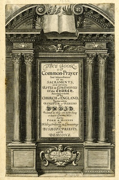 Title page of the 1662 Prayer Book
