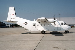 CASA C-212 as operated by civilian contractor for 830th AD