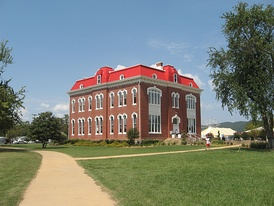 Choctaw Capitol Building in Tuskahoma.