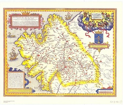 Map of the Kingdom of Galicia, 1603