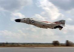 VF-74 was the first operational U.S. Navy Phantom squadron in 1961