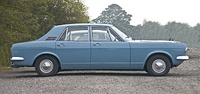 Ford Zephyr 4 Mark IV: the short tailed long nosed profile recalled Ford's iconic Mustang