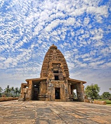Galaganatha Temple at Pattadakal complex (UNESCO World Heritage) is an example of Badami Chalukya architecture.