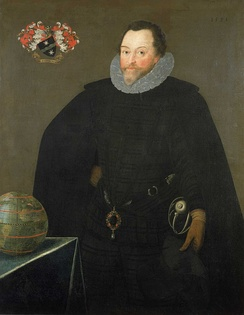 Sir Francis Drake in 1591