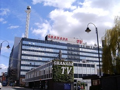 Granada Studios, was built in 1954 to house the broadcaster of ITV Granada. Granada, opened in 1956 and is the only franchise to remain an ITV contractor since creation in the studios closed in 2013.