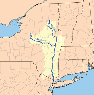 Mohawk and Hudson River watersheds