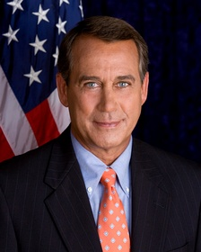 John Boehner, House Speaker (2011–2015), was the most visible adversary for President Barack Obama