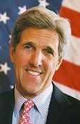 Massachusetts Senator John Kerry