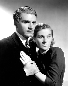 Rebecca, starring Laurence Olivier and Joan Fontaine, won the Outstanding Production award.