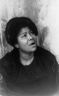 "American singer Mahalia Jackson is known as the ""Queen of Gospel""."